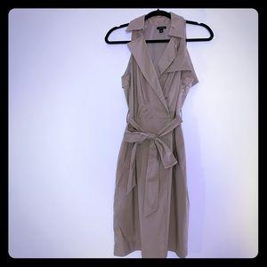 Ann Taylor khaki dress size 6